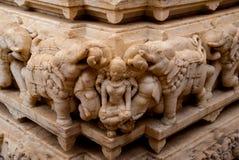 bügel Udaipur, Indien Fragmente von Wänden stockfotos