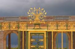 Bügeln Sie Rasterfeld, das Gatter von Trianon, Versailles, Frankreich lizenzfreie stockfotografie