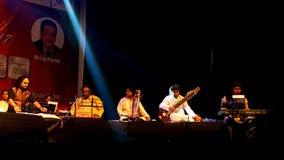 Bühnenshow Parthiv Gohil Stockfotografie