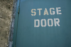 Bühnentür Stockfotos