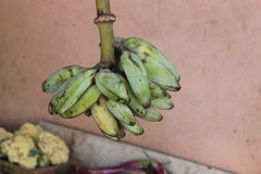 Bündel alte Bananen Stockfotos