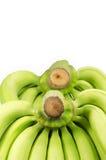 Bündel Bananen: Beschneidungspfad eingeschlossen Lizenzfreie Stockfotos