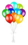 Bündel bunte Ballone lizenzfreie abbildung