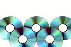 Bündel der CD stockfotos