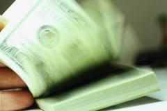 Bündel Dollar Lizenzfreies Stockbild