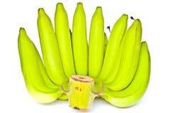Bündel grüne Bananen Stockfoto