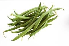 Bündel grüne Bohnen Stockfoto