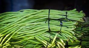 Bündel grüne Bohnen Stockfotografie