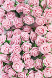 Bündel helle magentarote Rosen für Hintergrund Lizenzfreies Stockfoto