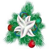 Bündel Kiefer Weihnachten Stockfoto