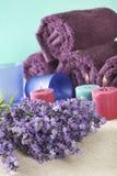 Bündel Lavendel stockbild