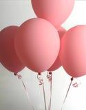 Bündel rosafarbene Ballone Stockbild