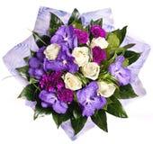 Bündel violette flowrs Stockfotografie