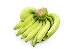 Bündel von Bananen Beschneidungspfad eingeschlossen Lizenzfreie Stockbilder