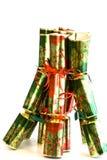Bündel Weihnachtscracker Stockbild