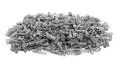 Bündel weniger Metallfrühlinge Lizenzfreies Stockbild