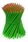 Bündelbleistifte gebunden mit einem elastischen Band Stockbilder