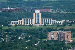 Bündnis-Gebäude in Neufundland stockbild