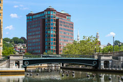 1 Bürger-Piazza, Providence, RI Lizenzfreies Stockfoto