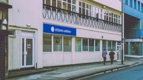 Bürger-Rat Bristol auf Fairfax-Straße Lizenzfreies Stockfoto