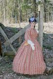 Bürgerkriegärafrau Lizenzfreies Stockbild