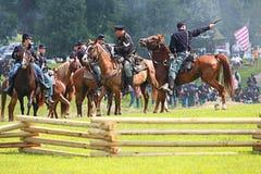 Bürgerkrieg Stockfotografie