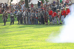 Bürgerkrieg Lizenzfreies Stockfoto