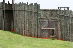 Bürgerkrieg-Gefängnis stockfoto