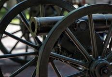Bürgerkrieg-Kanone Lizenzfreies Stockfoto