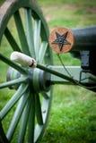 Bürgerkrieg-Kanone Stockfotografie
