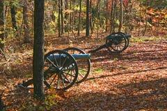 Bürgerkrieg-Kanonen Stockbilder