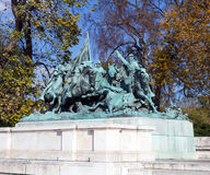 Bürgerkrieg-Kavallerie Lizenzfreie Stockfotos