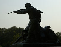 Bürgerkrieg Munument Vicksburg Lizenzfreies Stockfoto