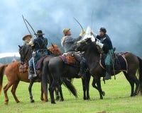 Bürgerkrieg neun Stockbild