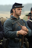 Bürgerkrieg Reenactor Stockfotografie
