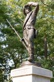 Bürgerkrieg-Statue Stockbilder