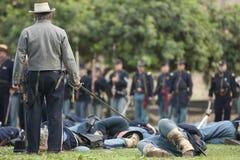 Bürgerkrieg-Wiederinkraftsetzung Lizenzfreie Stockbilder