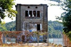 Bürgerkrieghotel in Monte Ne Ar Stockfotografie