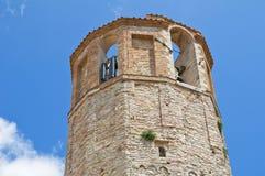 Bürgerlicher Turm. Amelia. Umbrien. Italien. Stockfotografie