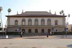 Bürgerliches Auditorium Pasadenas in Pasadena, Kalifornien, USA lizenzfreie stockfotos