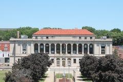 Bürgerliches Gebäude in im Stadtzentrum gelegenem St Joseph, Missouri. Lizenzfreie Stockfotos