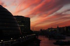 Bürgermeister Building auf der Themse Stockfoto