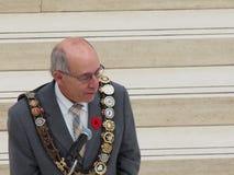 Bürgermeister Stephen Mandel Stockbild