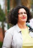Bürgermeister von Santa Barbara Helene Schneider Lizenzfreies Stockfoto