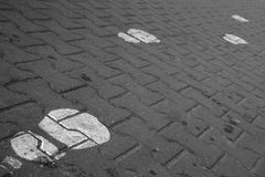 Bürgersteig Stockbild