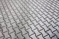 Bürgersteig in den grauen Farben Lizenzfreie Stockbilder
