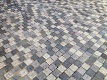 Bürgersteig oder Sockel im Steinartboden Stockfotografie