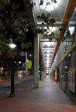Bürgersteig-Perspektive Stockbilder