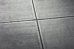 Bürgersteig von oben Stockbilder