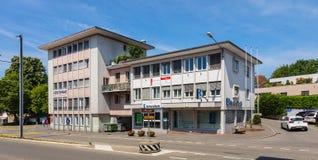 Büro Aargauische Kantonalbank in Bremgarten, die Schweiz Lizenzfreies Stockfoto